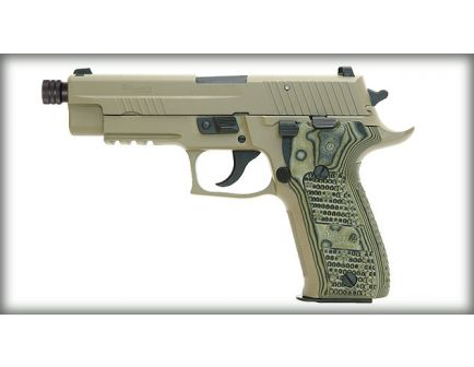 Sig Sauer P226 9mm Scorpion with Threaded Barrel E26R-9-SCPN-TB