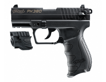 Walther PK380 Black with Laser 5050310
