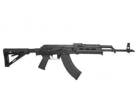 PSAK-47 GF3 Forged AK-M4 MOE Rifle, Black (No Cleaning Rod) - 5165450430
