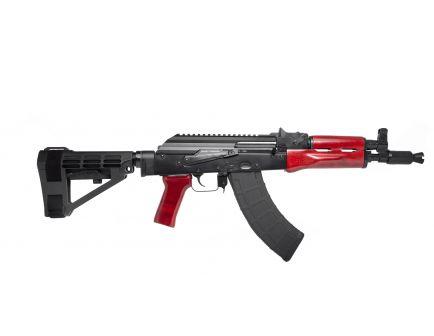 PSA AK-P Red Wood SBA4 Pistol