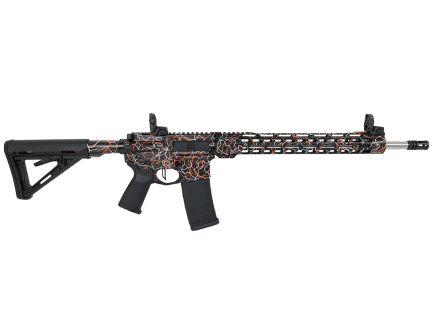 """PSA Custom """"P'sgettis"""" .223 Wylde 18"""" SS Rifle 15"""" MLOK w/ Ambi Safety, 3.5lb Flat Bow FCG"""