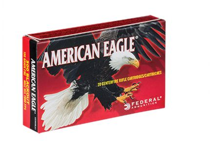 .300 AAC Ammo American Eagle 300 AAC Blackout 150gr FMJ-BT Ammunition 20rds - AE300BLK1