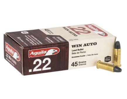 Aguila 45 gr LRN .22 WMR Ammunition 50 Rounds