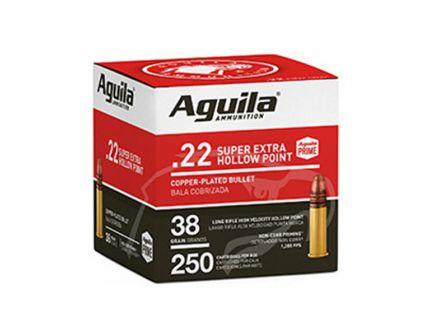 Aguila Standard High Velocity 36 gr HP .22 LR Ammunition 250 Rounds