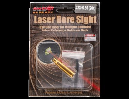 aim shot 223 rem laser boresighter