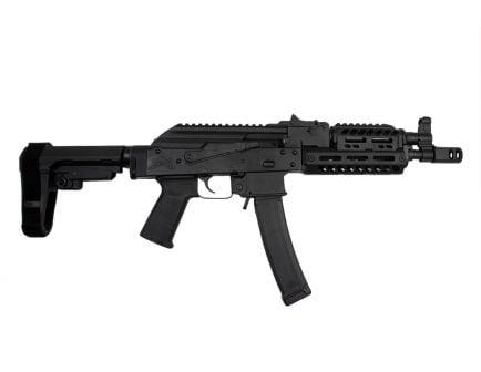 PSA AK-V 9mm Railed MOE SBA3 Pistol, Black - 5165450179