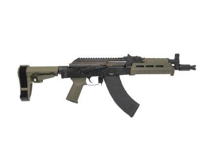 PSA AK-P MOE SBA3 Pistol, OD Green