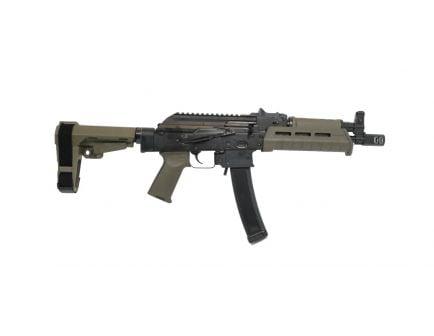 PSA AK-V 9mm MOE SBA3 AK-9 Pistol | OD Green