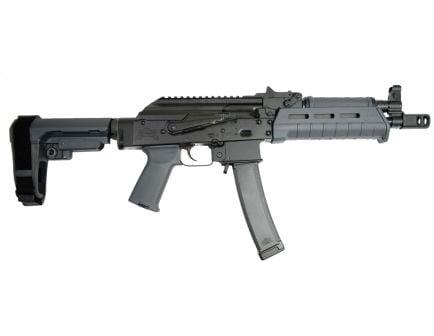 PSA AK-V 9mm MOE SBA3 Pistol, Gray