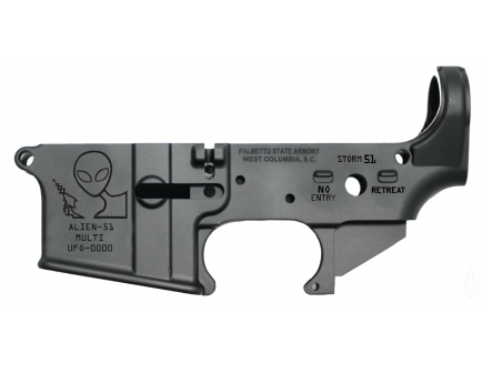 "PSA AR-15 ""Alien-51"" Stripped Lower Receiver *Preorder Item (4-6 Weeks Delivery)"