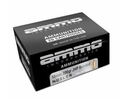 Ammo Inc Signature 10mm Ammo 200GR JHP  for sale