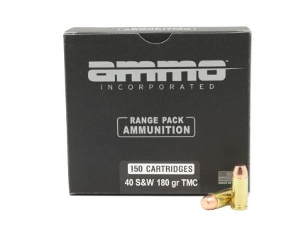 Ammo Inc Signature  40 S&W 180GR TMC 150rd Range Pack