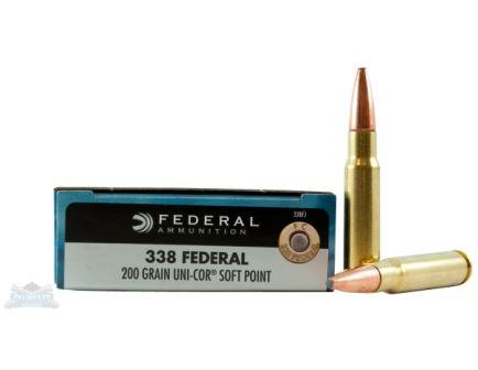 Federal .338 Lapua Magnum Rifle Ammo