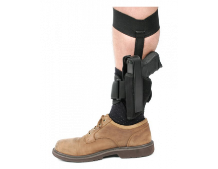 BLACKHAWK! Ankle Holster - Size 10 Left 40AH10BK-L