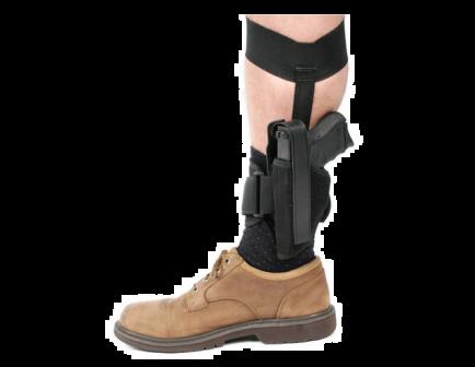 BLACKHAWK! Ankle Holster - Size 16 Right 40AH16BK-R
