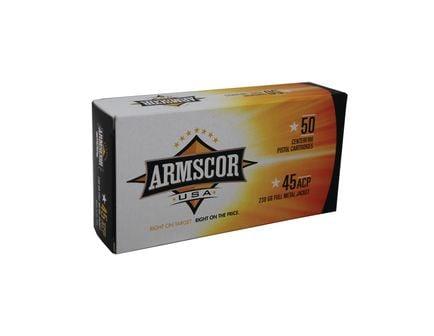 Armscor 45 Auto/ACP 230gr FMJ Ammunition 50rds - FAC45-12N