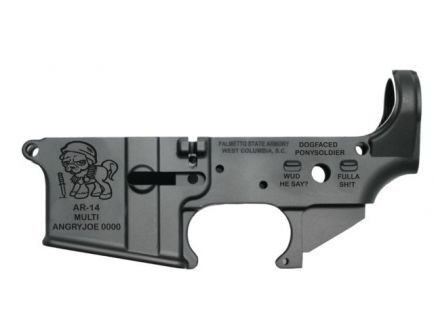 "PSA ""ANGRYJOE-14"" AR-14 Stripped Lower Receiver *Preorder Item (8-10 Weeks Delivery)"