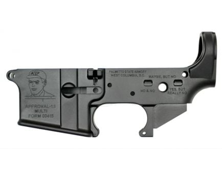 """PSA AR-15 """"Approval-15"""" - Stripped Lower Receiver"""