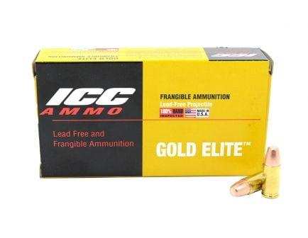 Atomic Ammunition 100 gr Frangible 9mm Ammunition 50 Rounds