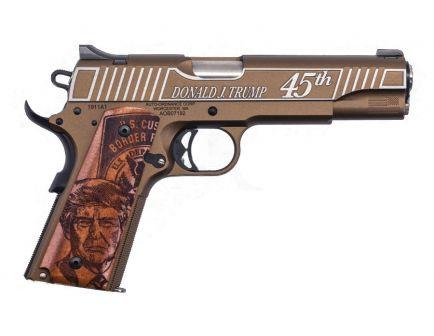 Auto Ordnance 1911 A1 Trump .45 ACP Pistol, Bronze Cerakote