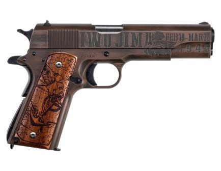 """Auto-Ordnance Iwo Jima 1911 5"""" .45 ACP Pistol, Distressed Copper Cerakote"""