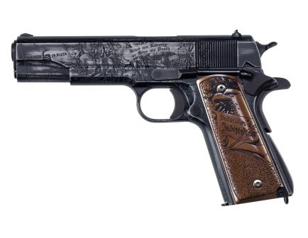 "Auto-Ordnance Revolution 1911 5"" .45 ACP Pistol, Midnight Blue Cerakote"