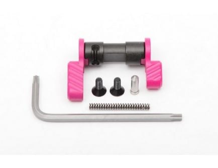 Battle Arms Development Bad-Ass 90 Degree Ambidextrous Safety Selector in Pink