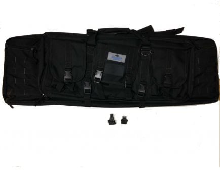 "Magpul MBUS Pro Front & Rear and Palmetto State Armory 36"" Tactical Rifle Case (Black)"