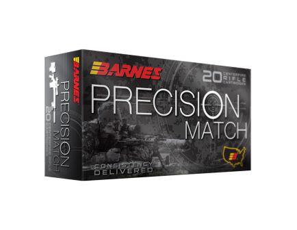 Barnes Precision Match 125 gr OTM-BT 300 Blackout Ammunition 20 Rounds