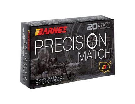 Barnes Precision Match 6.5 PRC 145 gr OTM 20 Rounds Ammunition