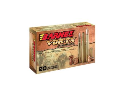 Barnes VOR-TX Safari 416 Rem Mag 400 gr Banded Solid 20 Rounds Ammunition - 22018