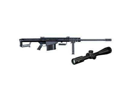 Barrett 82A1 .50 BMG Semi-Auto Rifle With Vortex PST Rifle Scope, Black