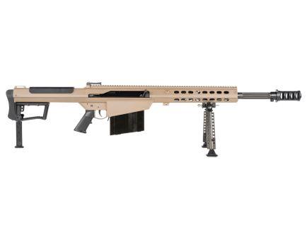 "Barrett M107A1 20"" .50 BMG Semi-Auto Rifle, FDE"