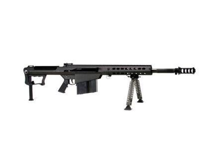 Barrett M107A1 ,50 BMG Semi Automatic Fluted Barrel Rifle, Black