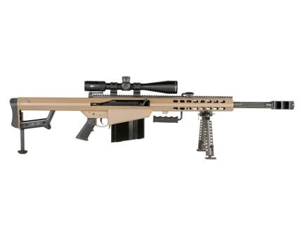 Barrett M82A1 .50 BMG Rifle With Vortex PST II 5-25x50 Rifle Scope, FDE - 18601