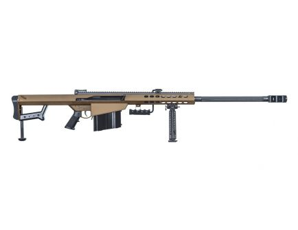 "Barrett 82A1 .50 BMG 29"" Semi-Automatic Rifle, Coyote Brown - 18858"
