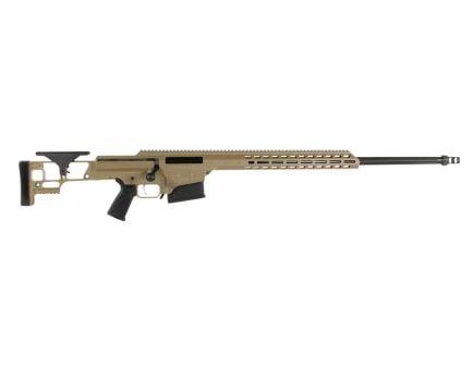 "Barrett MRAD 26"" .338 Lapua Magnum Bolt Action Rifle, FDE"