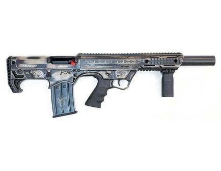 """Black Aces Tactical Bullpup 12 Ga Shotgun 18.5"""" 5rd, BLK/Distr. FDE - BATBPDFDE"""