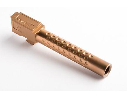 ZEV Match Grade Barrel G17, Dimpled, Bronze - - BBL-17-D-BRZ