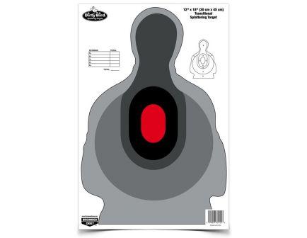"Birchwood Casey Dirty Bird 12""x18"" Transitional Silhouette Target, 8 Pack - BC-35727"