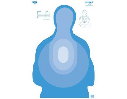 "Birchwood Casey Eze-Scorer 23""x35"" Transitional Blue Paper Target, 100 Pack - BC-37024"
