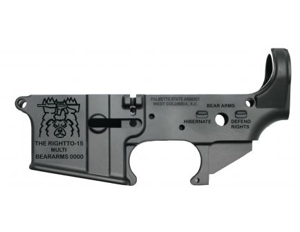 "PSA ""TheRightTo-15"" AR-15 Stripped Lower Receiver"