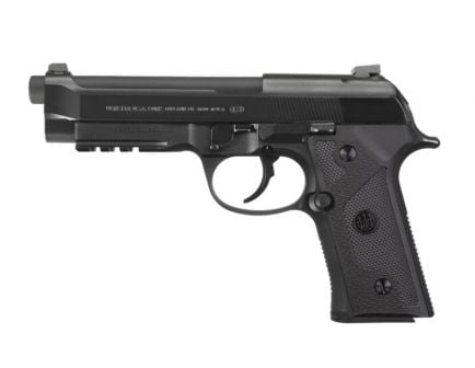 Beretta 92D 9mm Pistol With Rail And 92X Grip Frame, Black