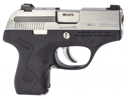 Beretta Pico Inox .380 ACP Pistol, Display Model - JMP8D25