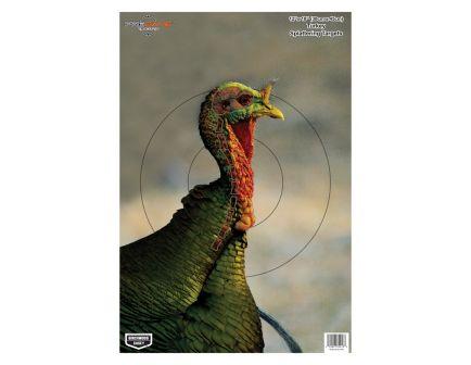 "Birchwood Casey Pregame 12""x18"" Turkey Target w/ Visible Vitals, 8 Pack - BC-35403"