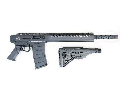 Black Aces Tactical Pro M-AR Semi Automatic 12 Gauge Shotgun, Black