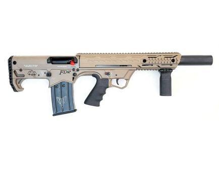 Black Aces Tactical Pro Series Bullpup Semi Automatic 12 Gauge Shotgun, FDE