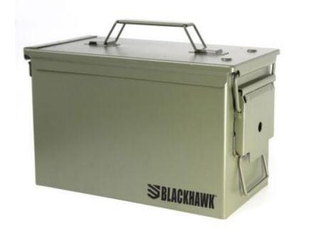 Blackhawk M2A1 50 Cal Metal Ammo Can, OD Green