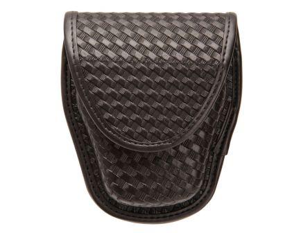 Blackhawk Molded Double Handcuff Case, Black Basketweave