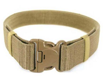 "Blackhawk! Enhanced Military Web Belt XL 44""- 49"", Coyote Tan - 41WB03DE"